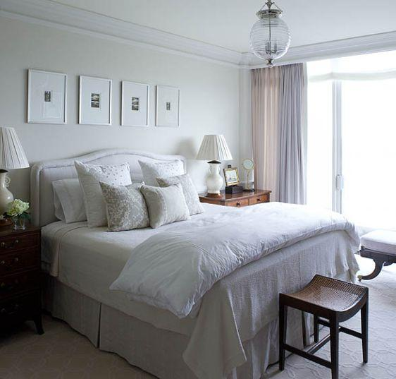 Bedrooms with White Bedding