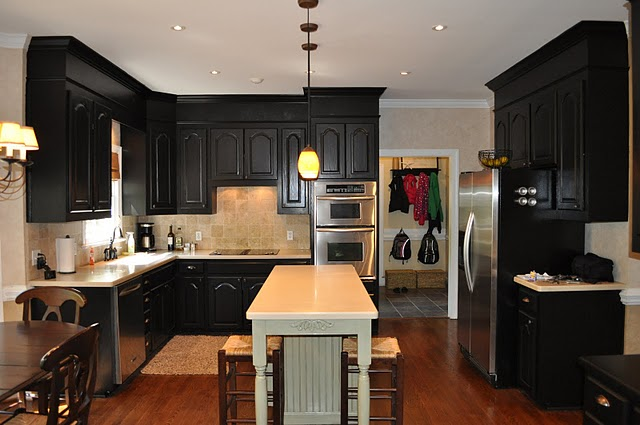 Antique Black Kitchen Cabinets Decor Ideasdecor Ideas