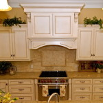 Antique White Glazed Kitchen Cabinets
