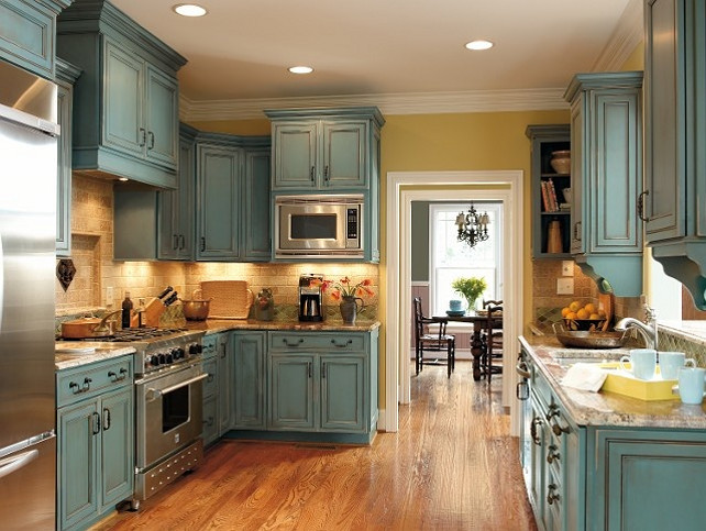 surprising digital imagery is part of Antique White Kitchen Cabinets