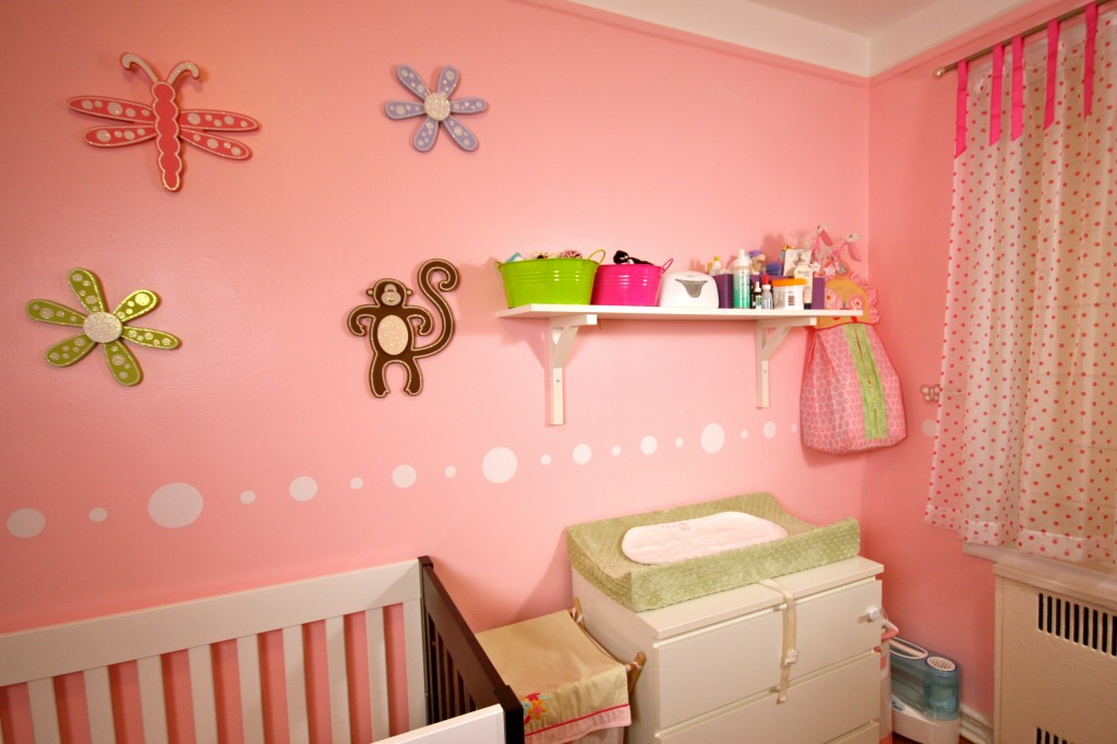 Baby girl bedroom ideas for painting decor ideasdecor ideas for Baby girl room decoration