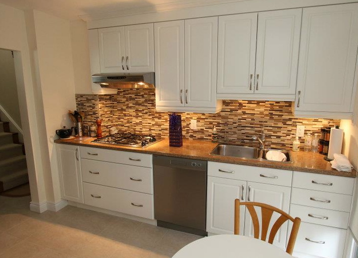 Backsplash for white kitchen cabinets decor ideasdecor ideas - White kitchen cabinet ideas ...