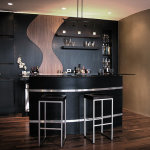 Black Home Bar Furniture