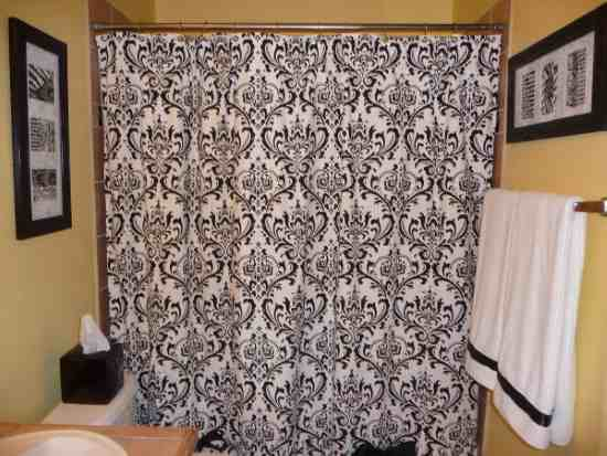 Black And White Paisley Shower Curtain Decor Ideasdecor