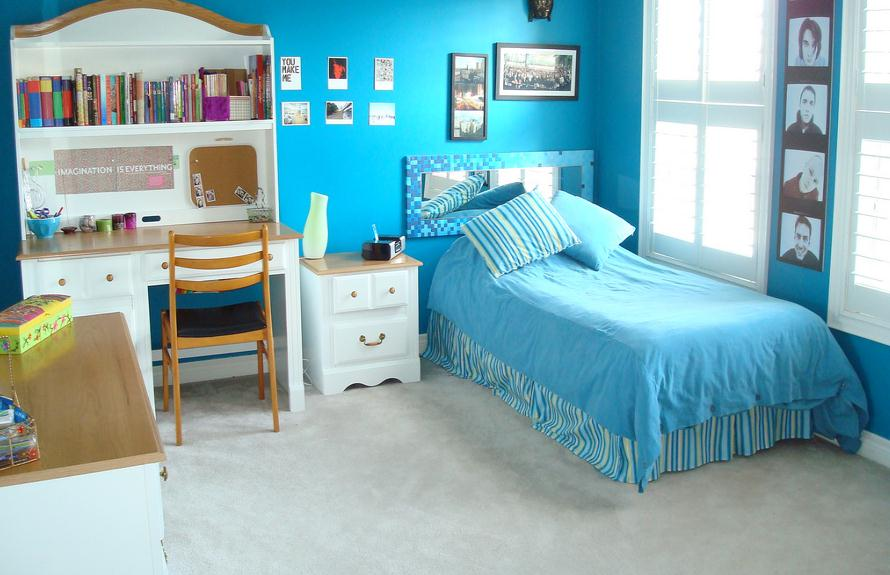 Blue Teenage Girl Bedroom Ideas Decor IdeasDecor Ideas