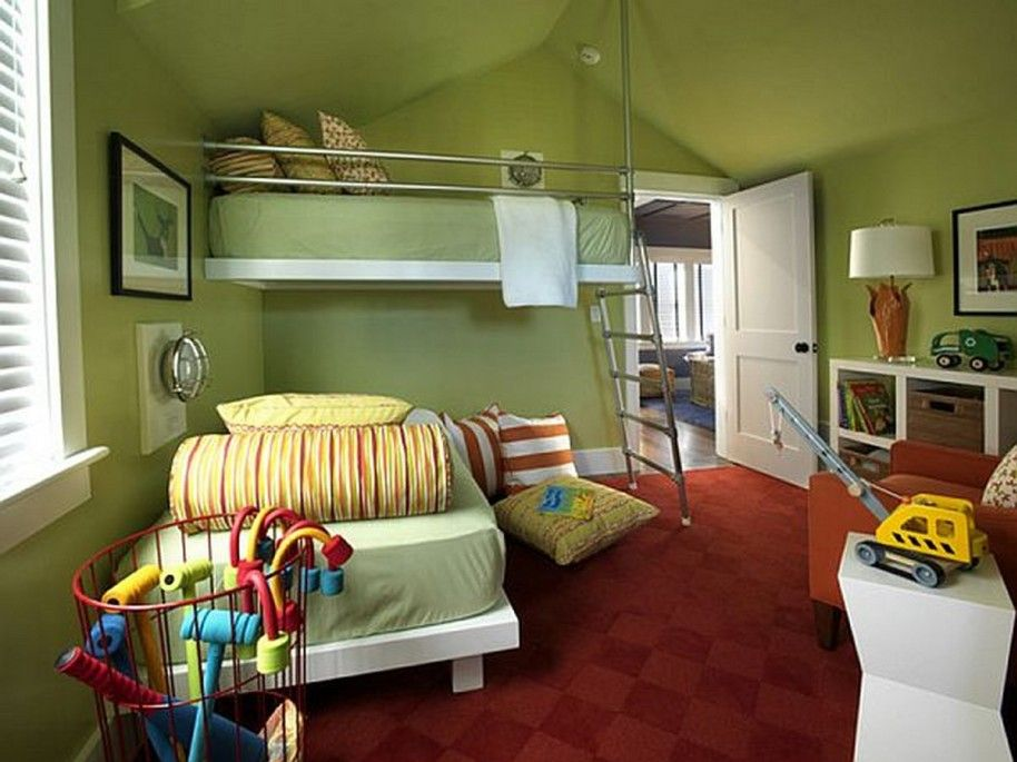 Boys Bedroom Colors