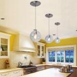 Brushed Nickel Pendant Lighting Kitchen