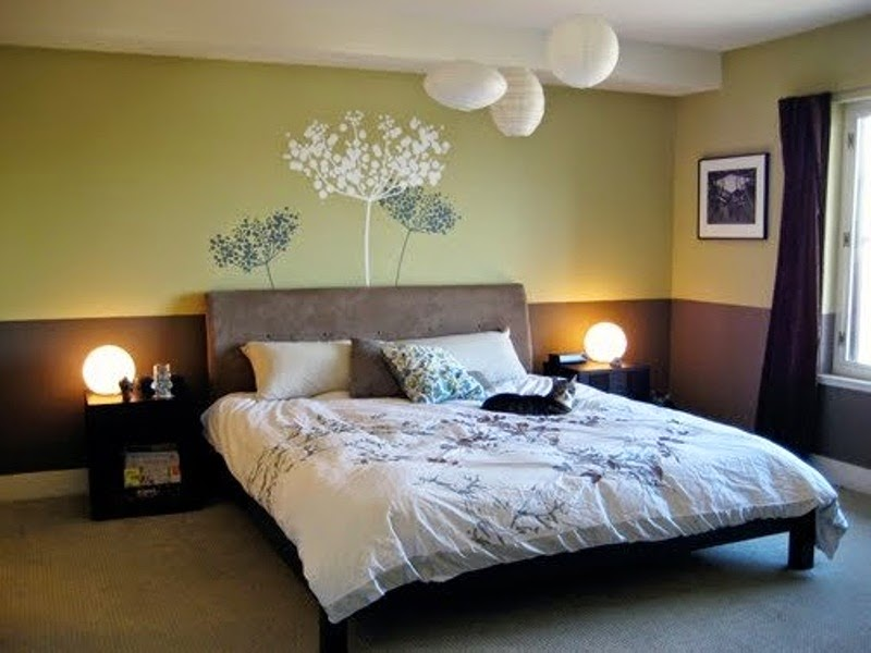 Calming bedroom colors decor ideasdecor ideas - Bedroom decoration design wall color ...
