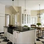 Classic White Kitchen Cabinets