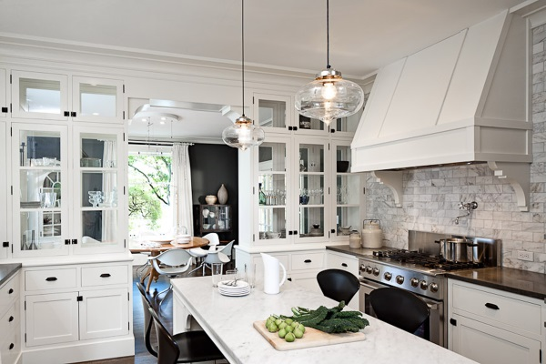 Clear Glass Pendant Lights for Kitchen Island