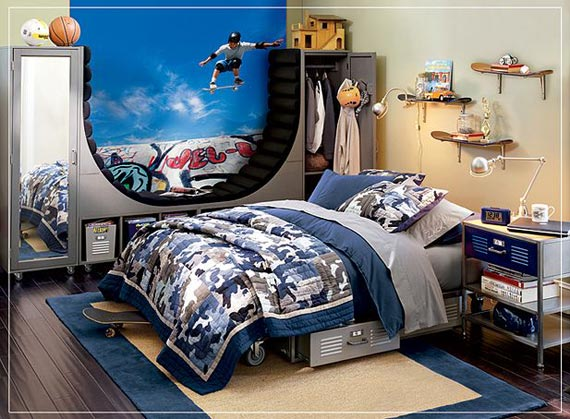 Cool boys bedroom ideas decor ideasdecor ideas Cool bedroom designs for small rooms