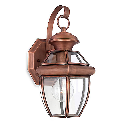 Copper Outdoor Lighting Fixtures Decor IdeasDecor Ideas