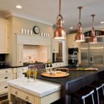 Copper Pendant Lights Kitchen
