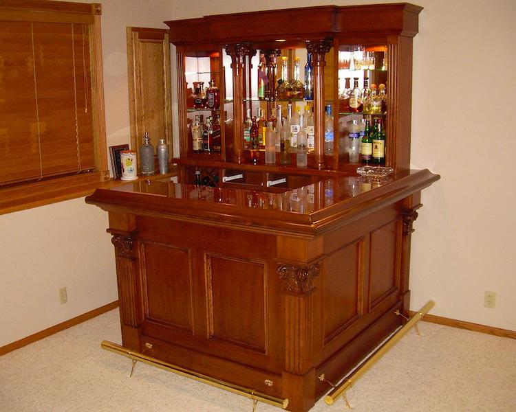 Custom Home Bar Furniture | Decor Ideas