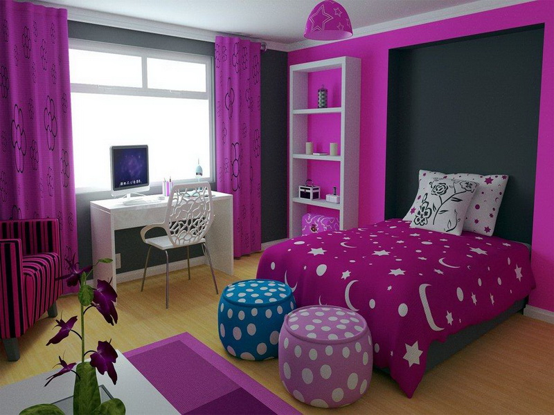 Cute girl bedroom ideas decor ideasdecor ideas for Cute bedroom ideas for teenage girls with small rooms