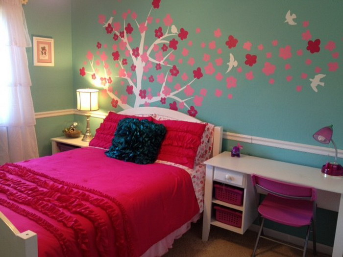 Diy girls bedroom ideas decor ideasdecor ideas - Bedroom wall decoration ideas for teens ...