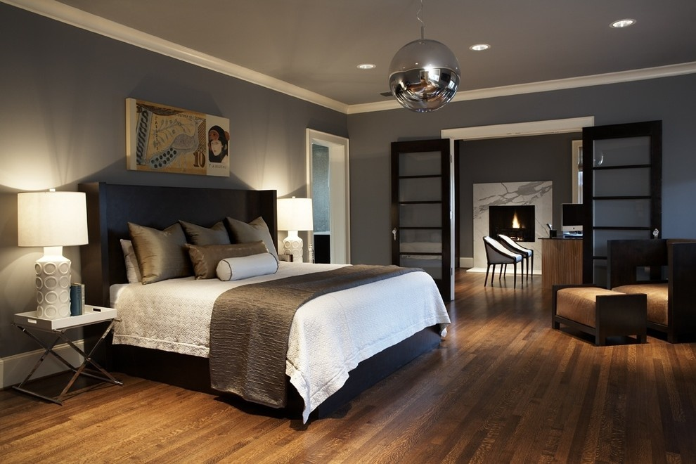 Great Bedroom Colors Unique With Grey Master Bedroom Design with Paint Picture