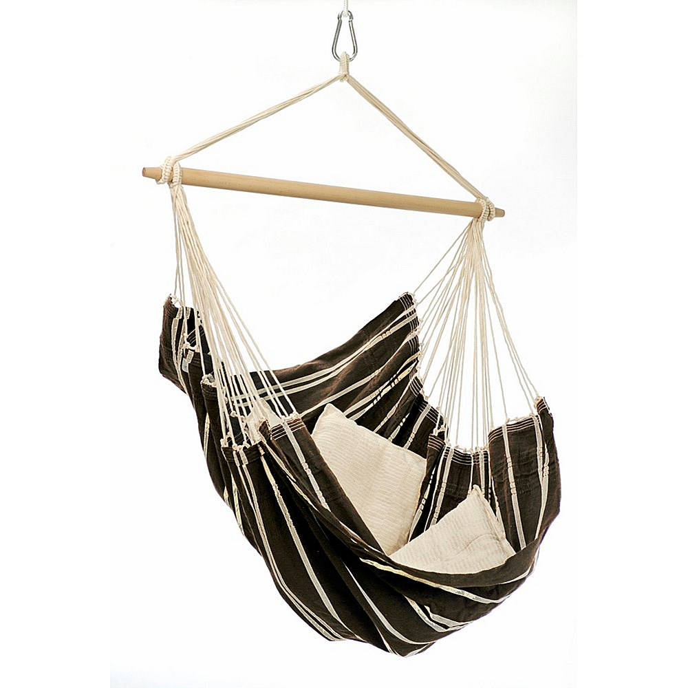 Hanging hammock chair for bedroom decor ideasdecor ideas - Fauteuil de jardin suspendu ...