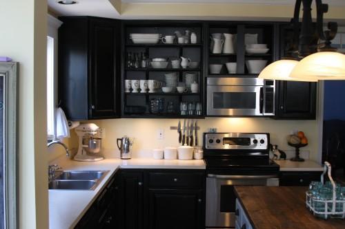 Ikea Black Kitchen Cabinets Decor IdeasDecor