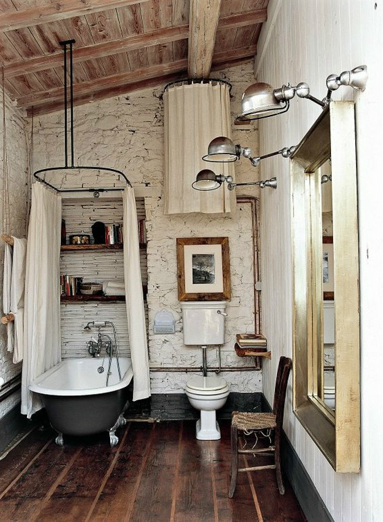 Industrial Bathroom Lighting