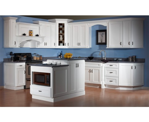 Kitchen color schemes with white cabinets decor for White kitchen colour schemes