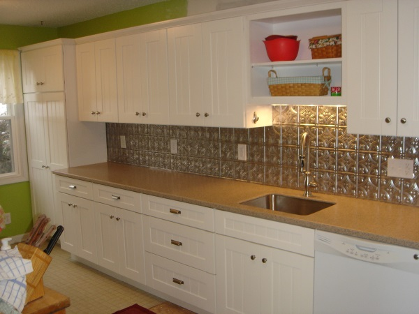 Wonderful Photo Is Segment Of Antique White Kitchen Cabinets Design