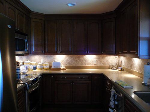 Low Voltage Kitchen Lighting