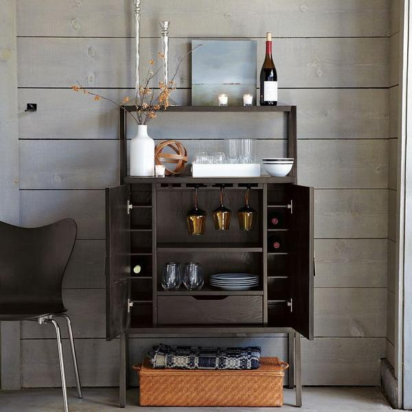 Mini bar furniture for home decor ideasdecor ideas for How to build a mini bar cabinet