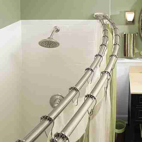 Moen Shower Curtain Rods Decor IdeasDecor Ideas