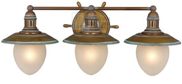 Nautical Bathroom Light Fixture: Nautical Bathroom Lighting