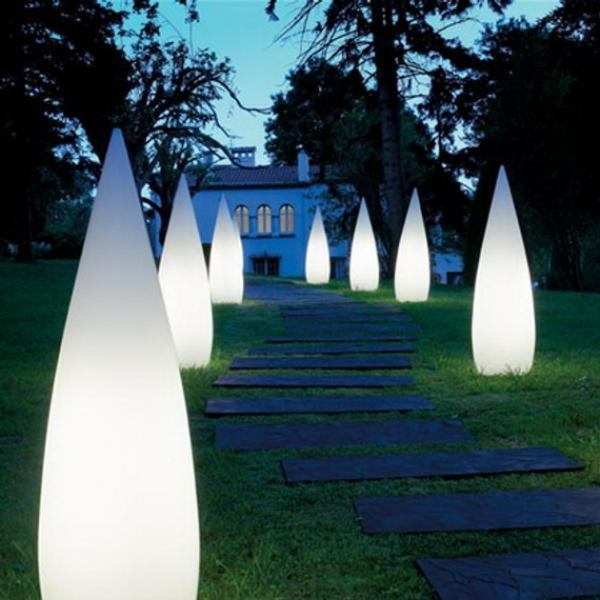 Outdoor pathway lighting fixtures decor ideasdecor ideas for Luxury exterior lighting