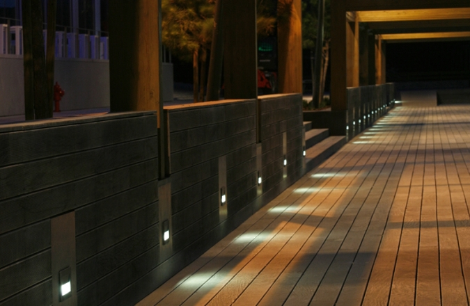 Outdoor Recessed Lighting