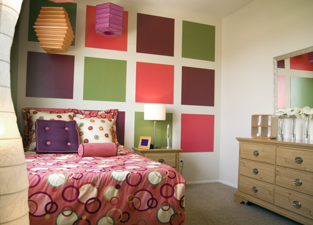 paint color ideas for teenage girl bedroom decor