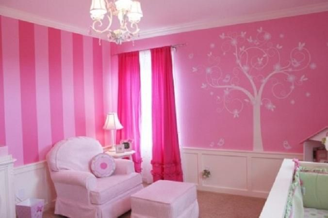 Paint ideas for girls bedrooms decor ideasdecor ideas for Kids paint bedroom ideas