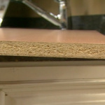 Painting Particle Board Kitchen Cabinets