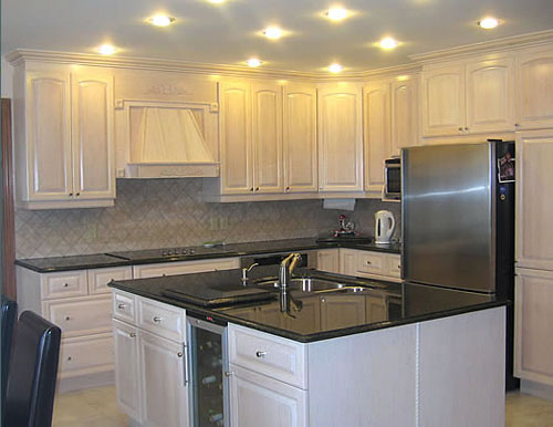 Painting White Oak Kitchen Cabinets