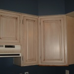 Painting and Glazing Kitchen Cabinets