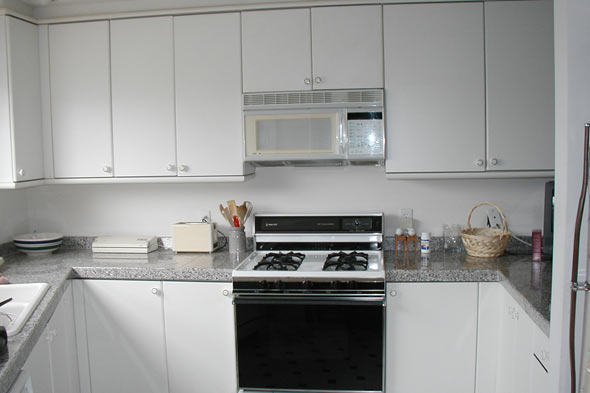 Plain White Kitchen Cabinets