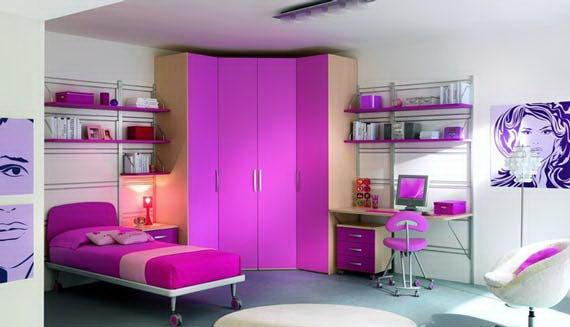 Purple Girls Bedroom Ideas Decor Ideasdecor Ideas