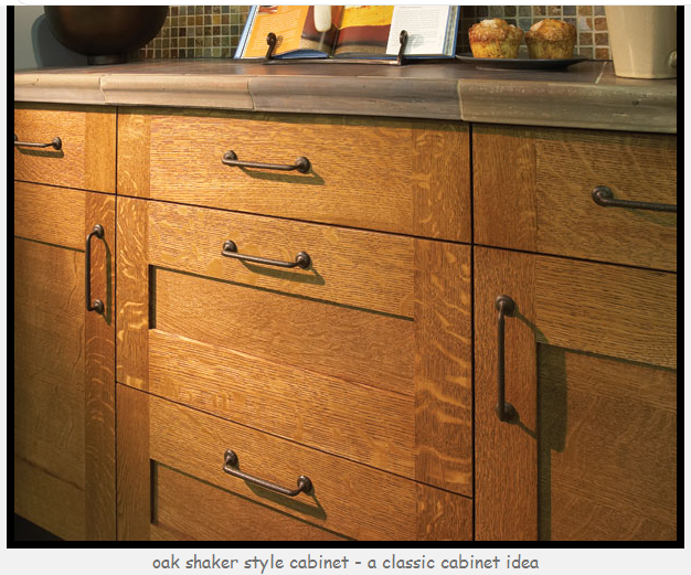 Quarter Sawn White Oak Kitchen Cabinets Decor IdeasDecor Ideas