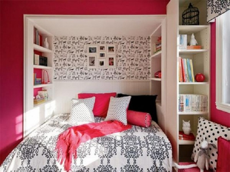 simple teenage girl bedroom ideas