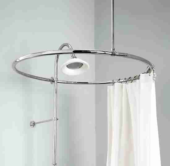 Small Shower Curtain Rod