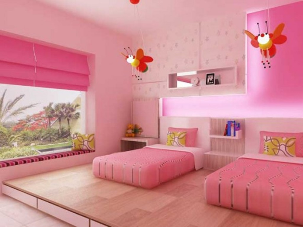 twin girl bedroom ideas decor ideasdecor ideas. Black Bedroom Furniture Sets. Home Design Ideas