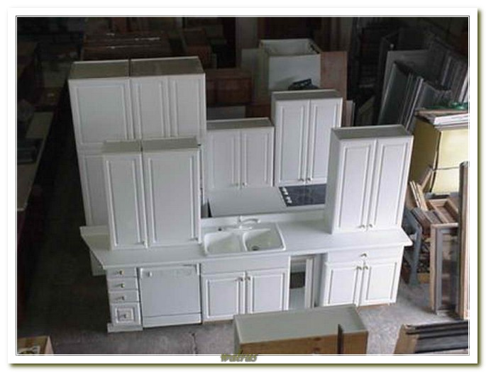 Used White Kitchen Cabinets For Sale