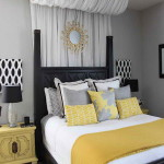 Yellow and Gray Bedroom Decorating Ideas