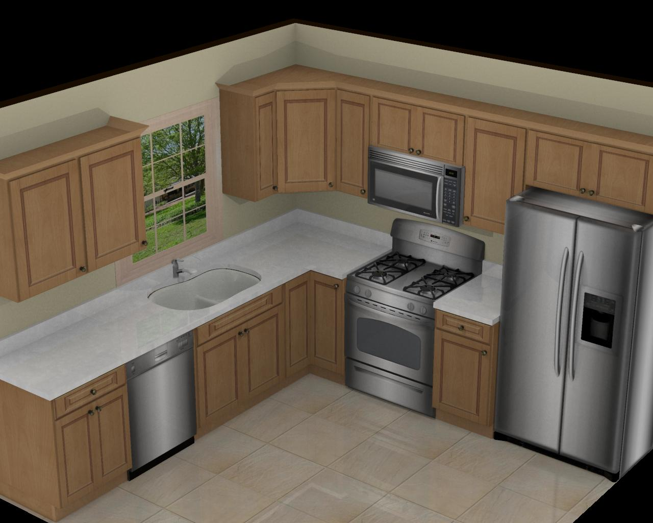 10x10 Kitchen Layout Ideas Of 10x10 Kitchen Remodel Decor Ideasdecor Ideas