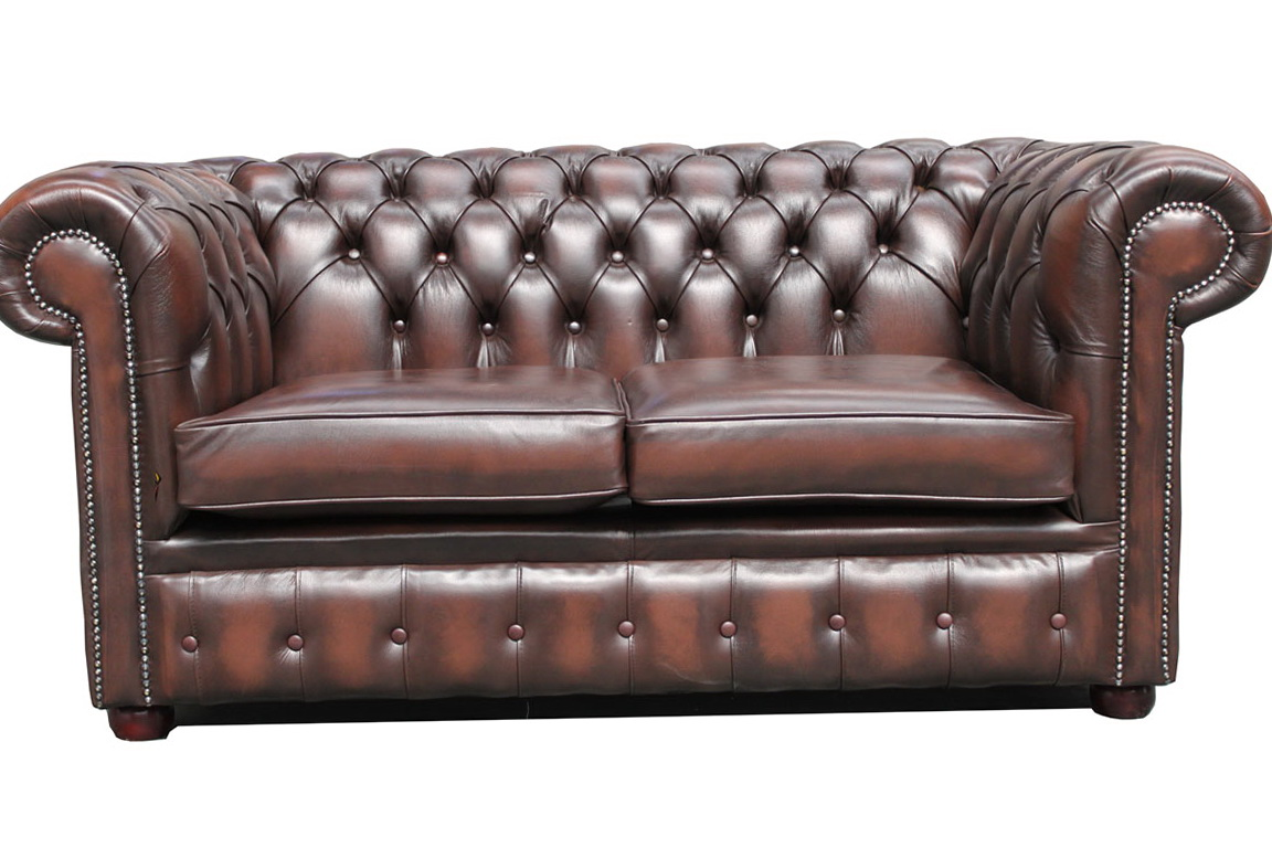 Chesterfield Leather Sofa Used Vintage Leather Chesterfield Sofa Home Furniture Design