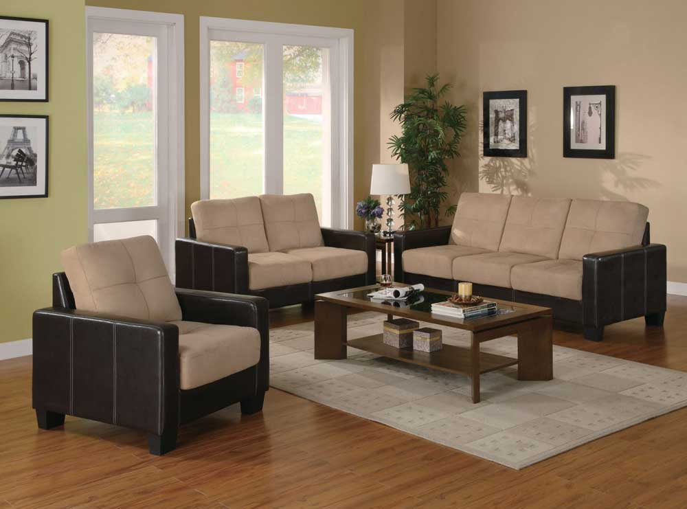 3 Piece Living Room Sofa Set: 3 Piece Living Room Table Sets