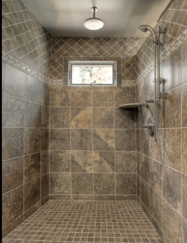 Awesome Floors Are Also That Builder Grade Large Tile I Was Thinking Frame The Mirror, New Light Fixtures And Faucets, Maybe Some Floating Shelves And Decor What I Really