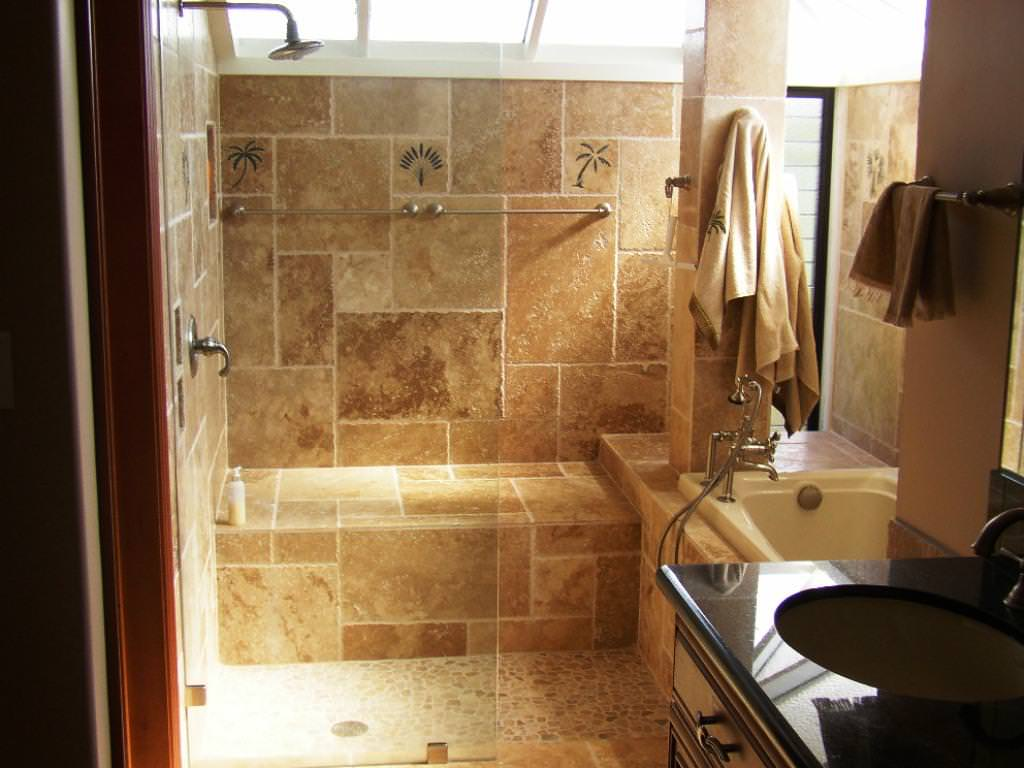Bathroom tile ideas on a budget decor ideasdecor ideas for Flooring for bathroom ideas